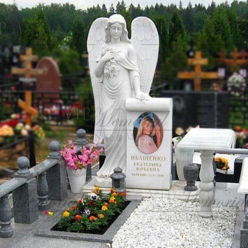 Скульптура ангела на заказ