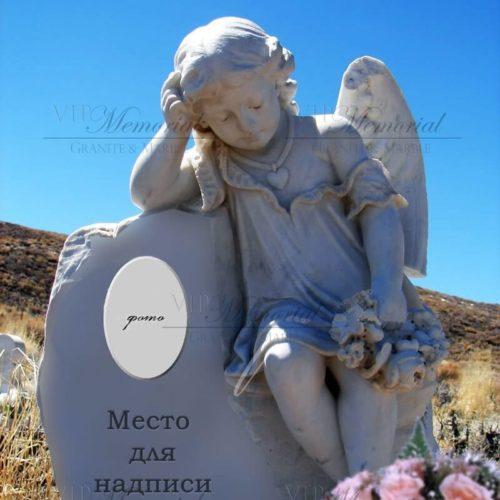 Скульптура ангелочка фото