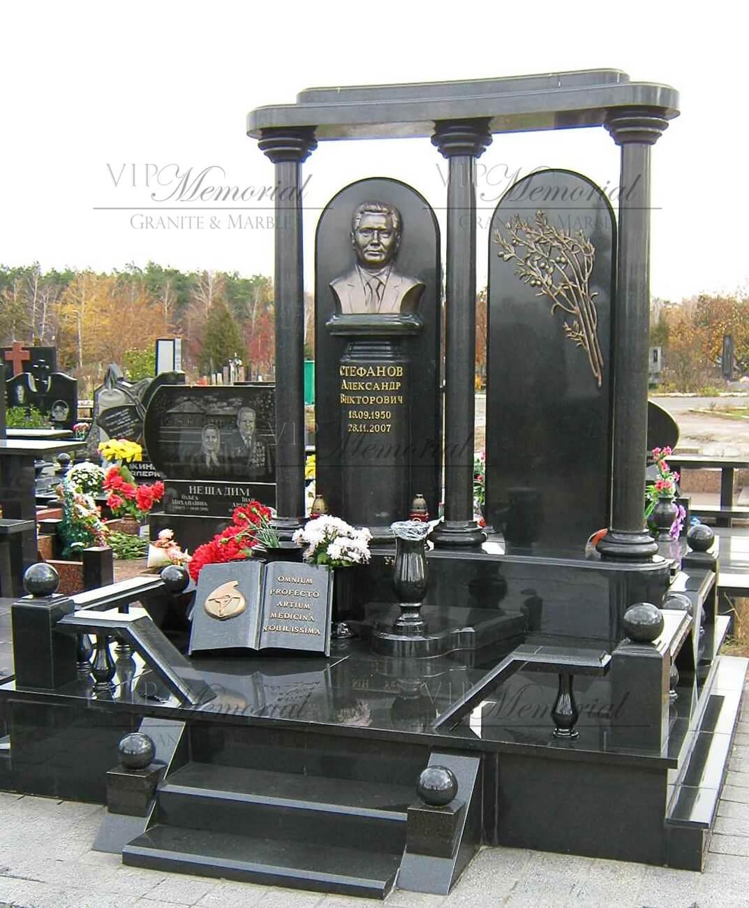Двойной памятник фото