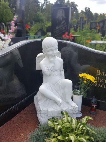 Скульптура ангела на могилу фото