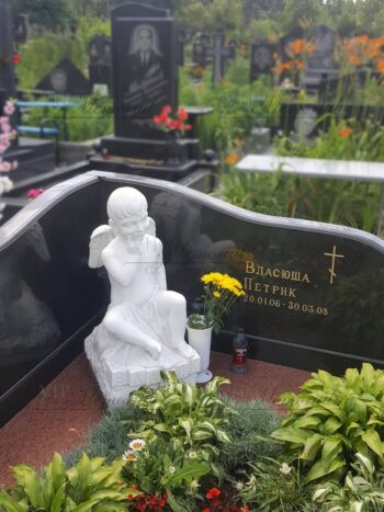 Скульптура ангела на могилу №6455