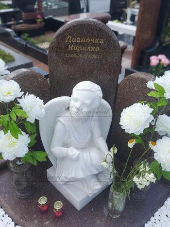 Детский памятник с ангелом фото